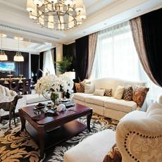 热门欧式一居客厅效果图片