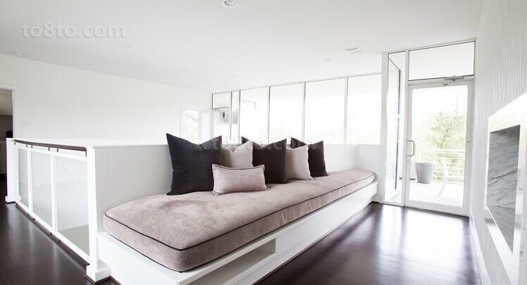 精选面积85平小户型客厅简约装修设计效果图片
