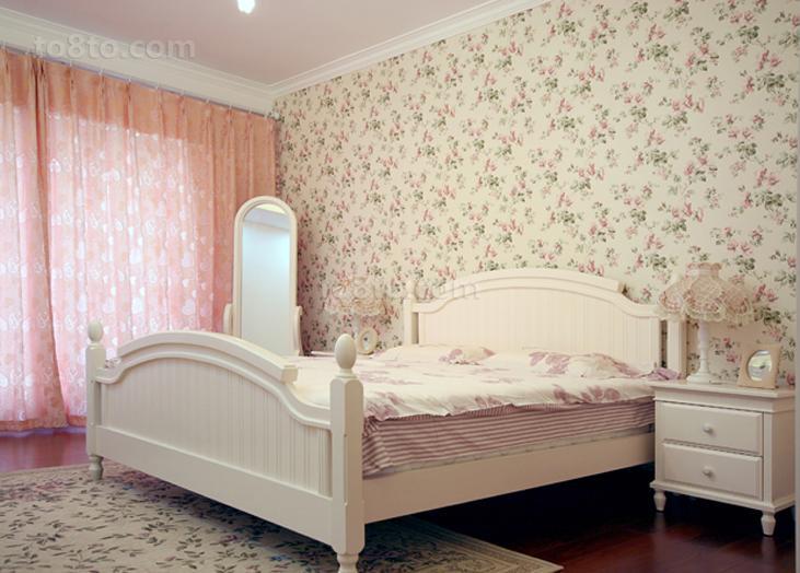 面积79平小户型卧室田园欣赏图片大全