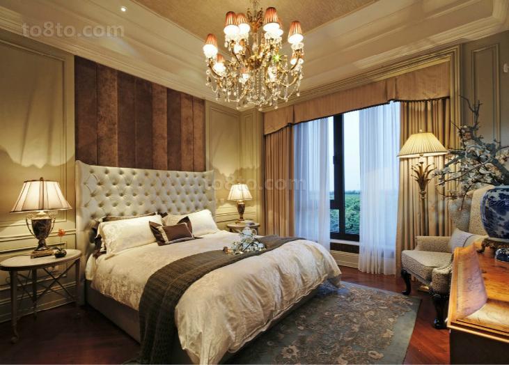 热门面积79平小户型卧室欧式装修欣赏图