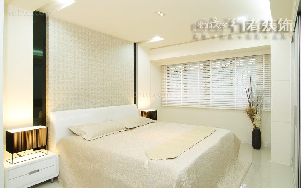 精选简约小户型卧室装修效果图片