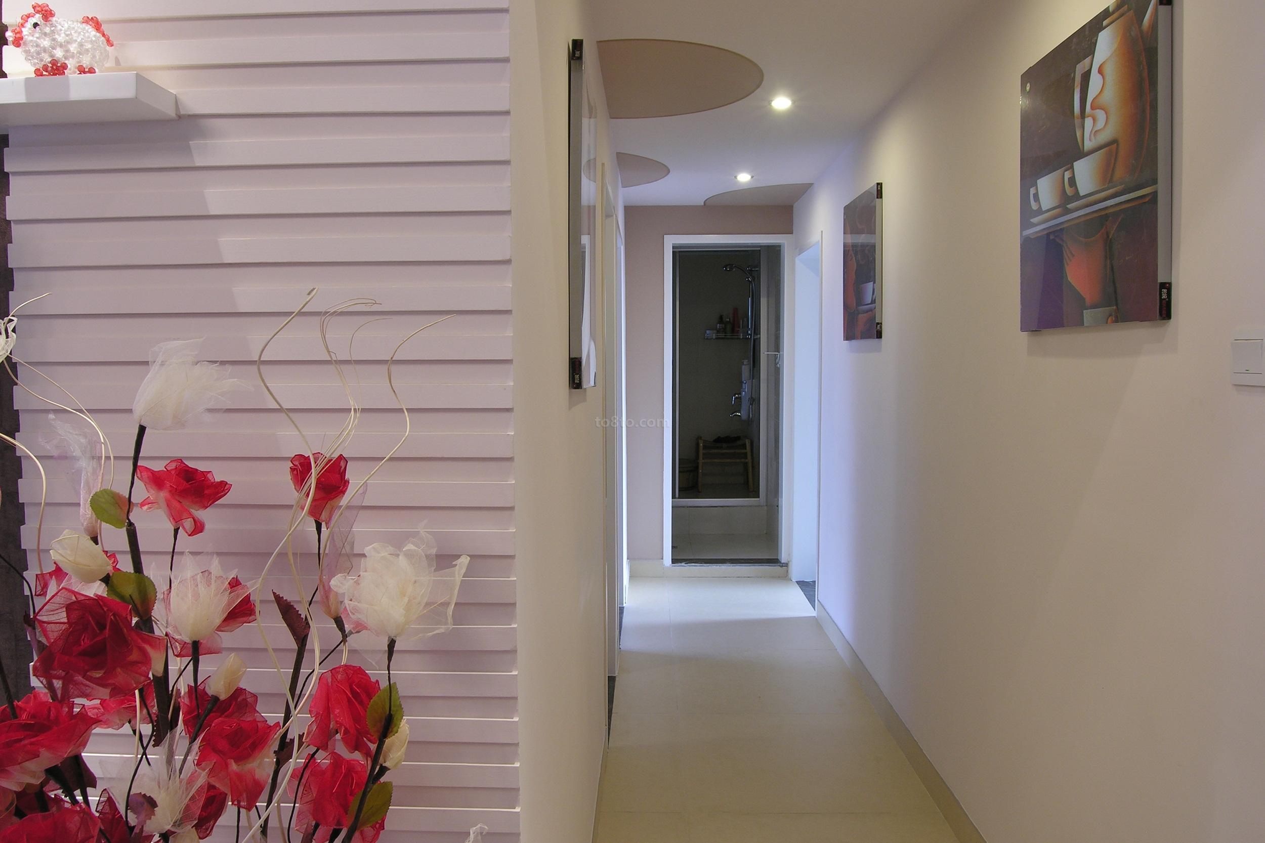 精美面积86平小户型休闲区简约装修设计效果图片欣赏