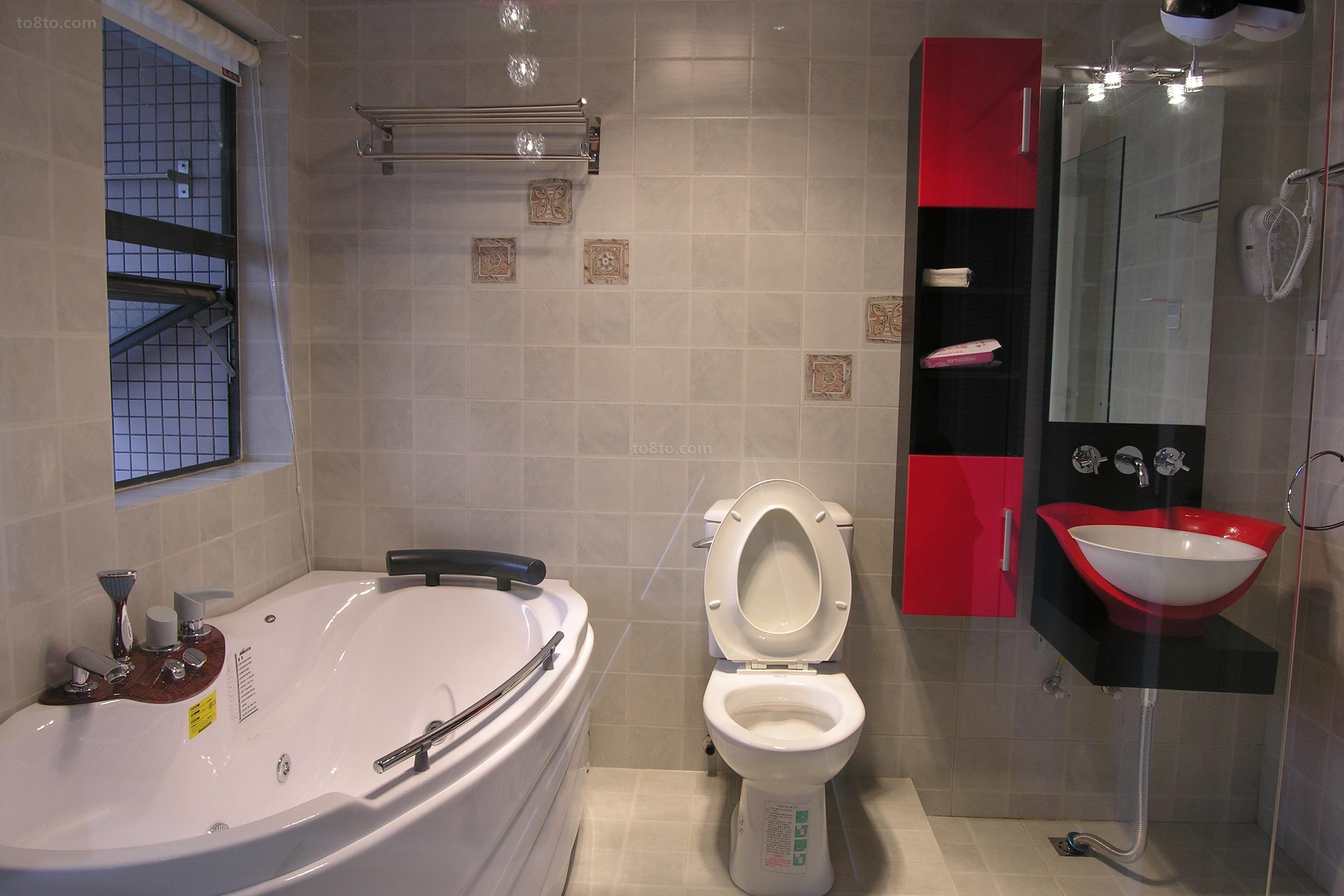 精选简约小户型卫生间装修实景图片欣赏