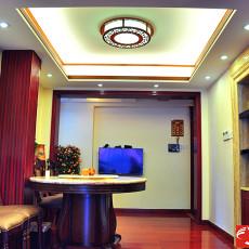 精美小户型餐厅中式装修设计效果图片欣赏