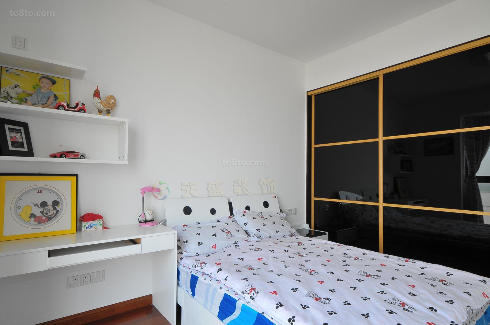 精美75平米简约小户型儿童房装修效果图片大全