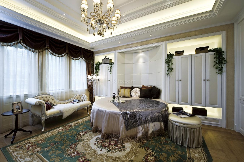 精美90平米欧式小户型休闲区装饰图片欣赏