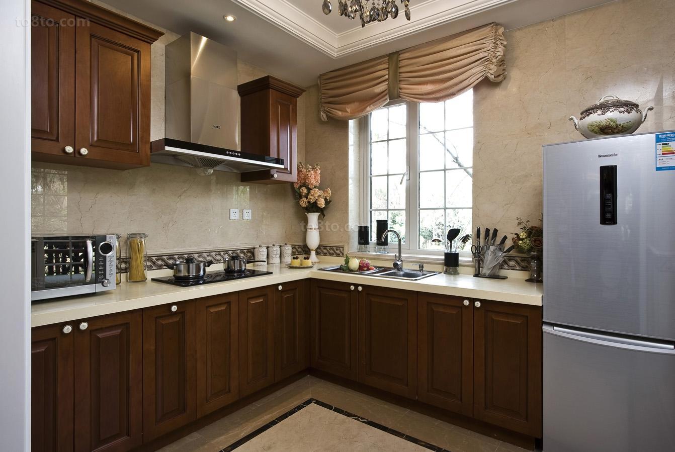 精选欧式小户型厨房装修效果图片