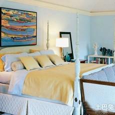 地中海风格时尚卧室设计效果图