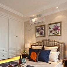 现代混搭风格卧室设计效果图