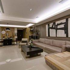 现代时尚风格客厅装修效果图片大全