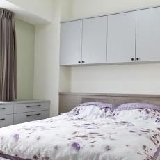 精美大小89平现代二居卧室装修实景图片