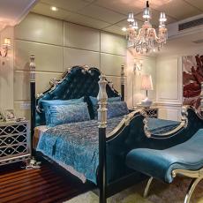 精选面积128平欧式四居卧室效果图片