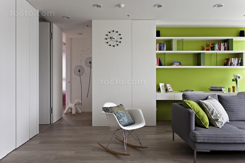 精选小户型休闲区简约设计效果图