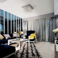 精美小户型客厅现代装修图片