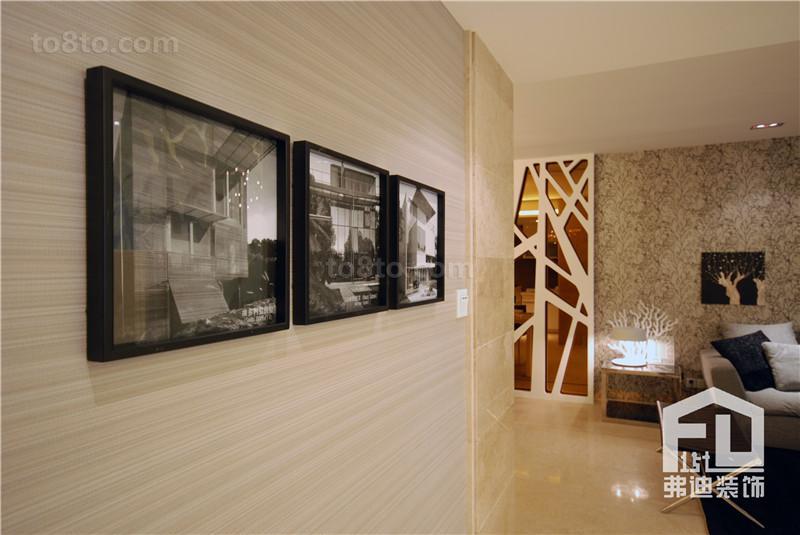 精选74平米简约小户型休闲区装修设计效果图片