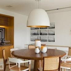 面积107平北欧三居餐厅装饰图片欣赏