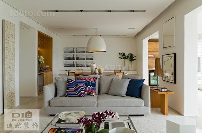 北欧风格室内客厅装修效果图大全