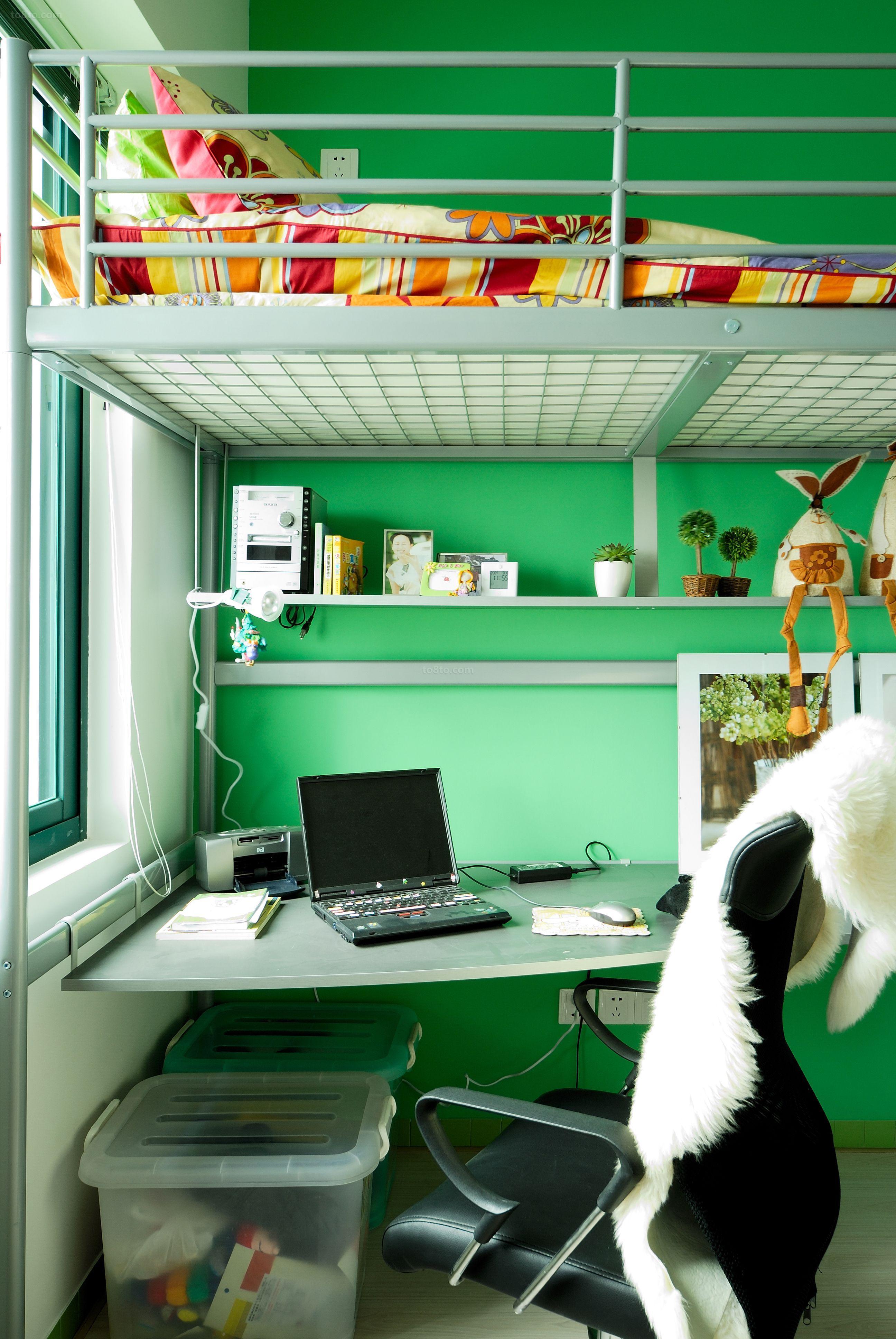 家装室内书桌设计效果图欣赏