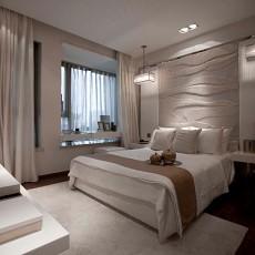 精选大小93平现代三居卧室装修效果图片大全