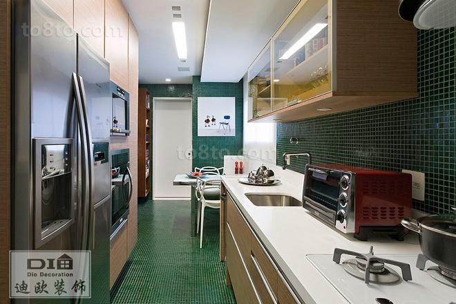 厨房装修效果图欣赏大全2014