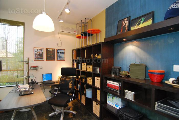 热门74平米小户型书房装修效果图片大全