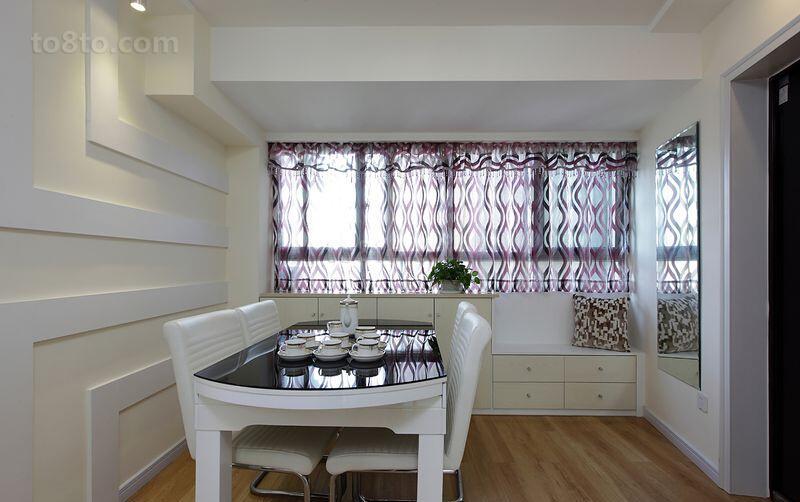 精美79平米简约小户型休闲区装饰图