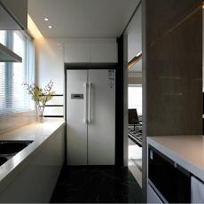 精美83平米现代小户型厨房效果图片欣赏
