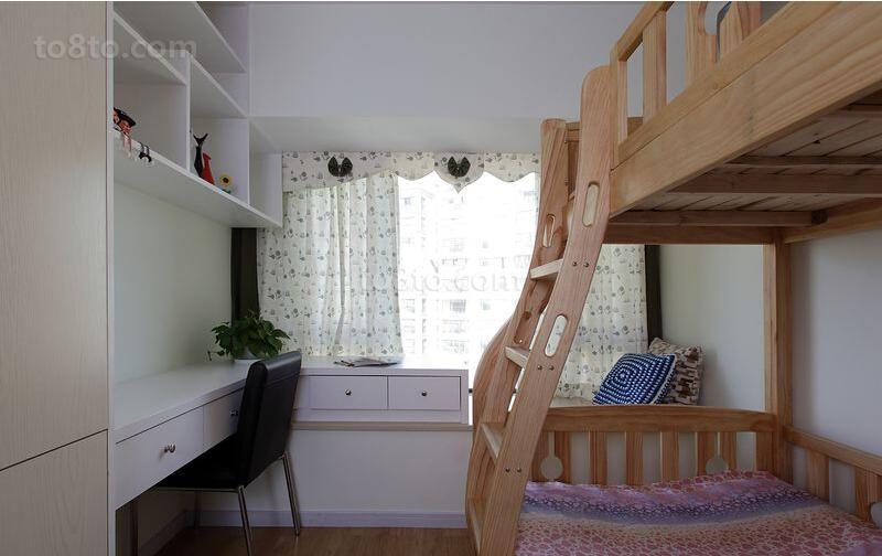 热门简约小户型儿童房装修图片欣赏
