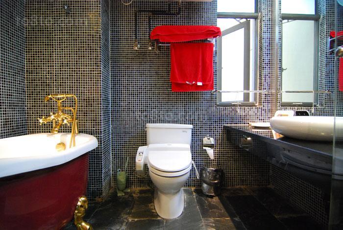 面积70平小户型卫生间装修设计效果图片欣赏