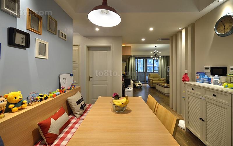 79平米简约小户型休闲区装修设计效果图