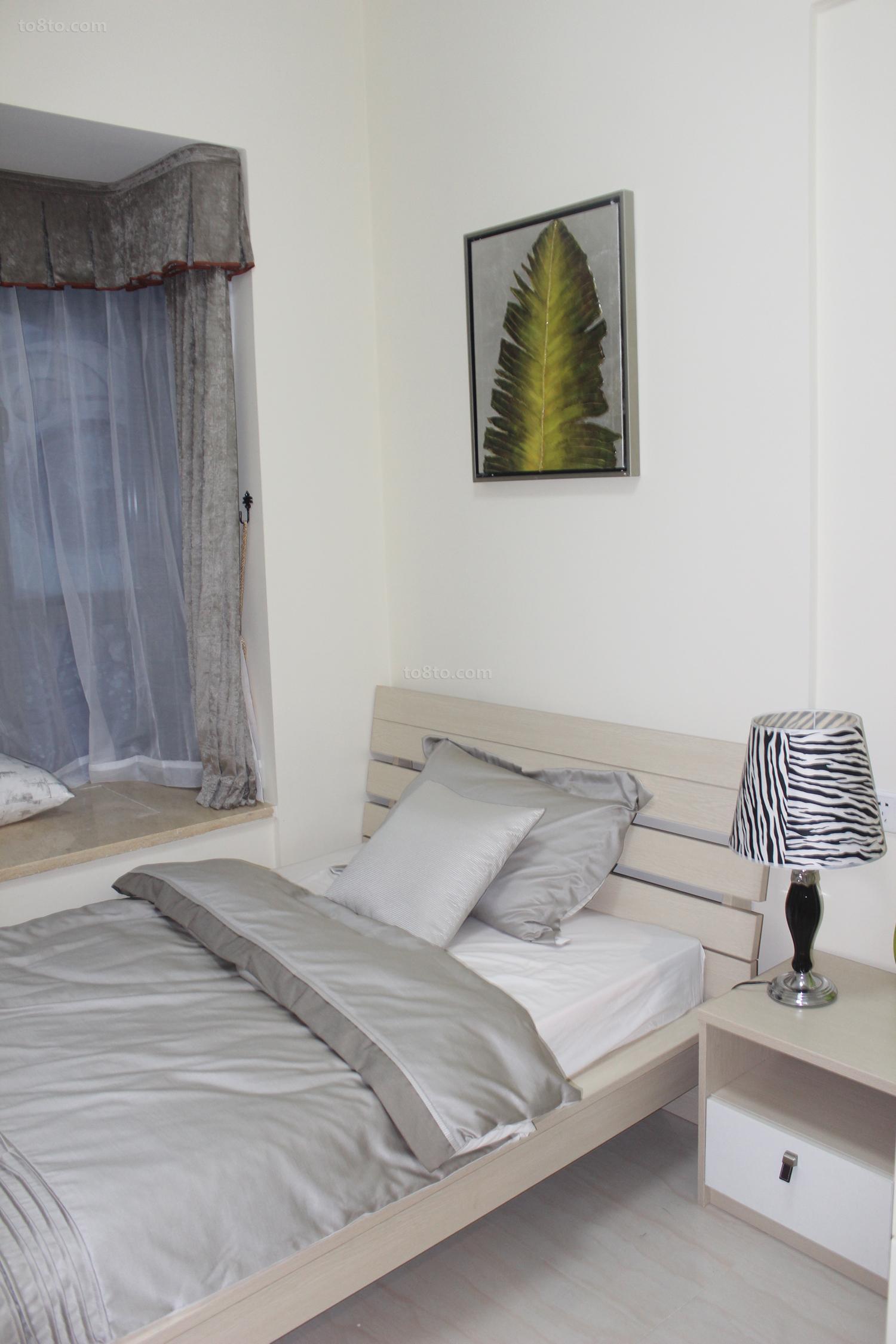 2018面积81平简约二居卧室设计效果图