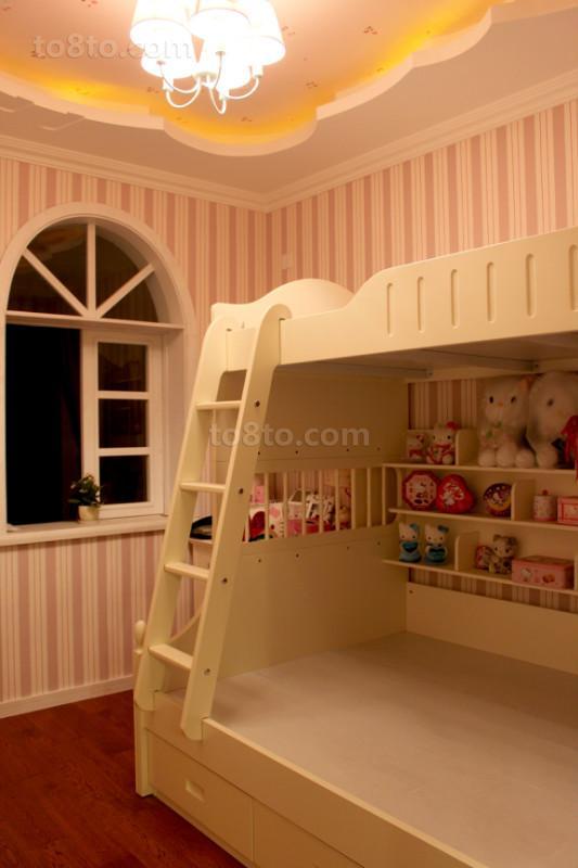 热门面积89平小户型儿童房欧式装饰图片欣赏