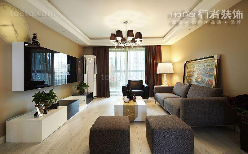 精选面积85平小户型客厅简约欣赏图