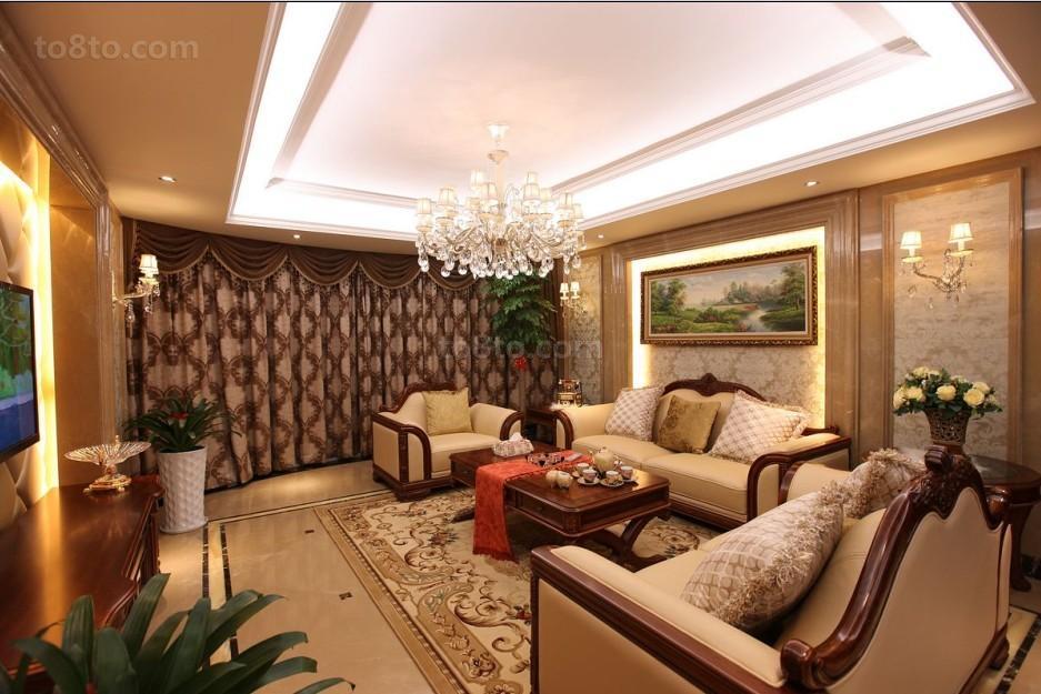 欧式一居客厅欣赏图片大全