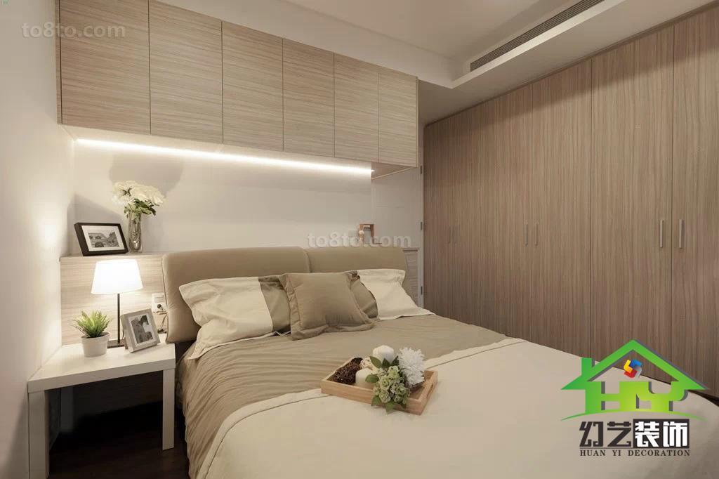 精选78平米简约小户型卧室装修设计效果图片大全
