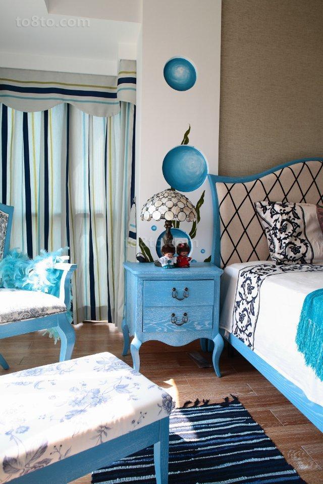 地中海风格卧室家具图片
