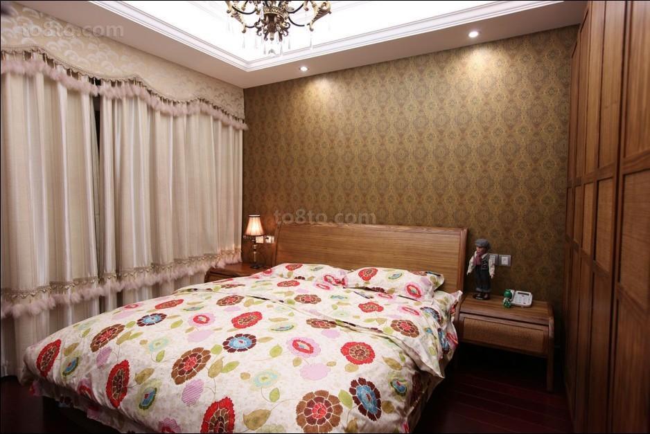 精美欧式小户型卧室装饰图片欣赏
