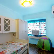 地中海风格儿童房装修效果图2014