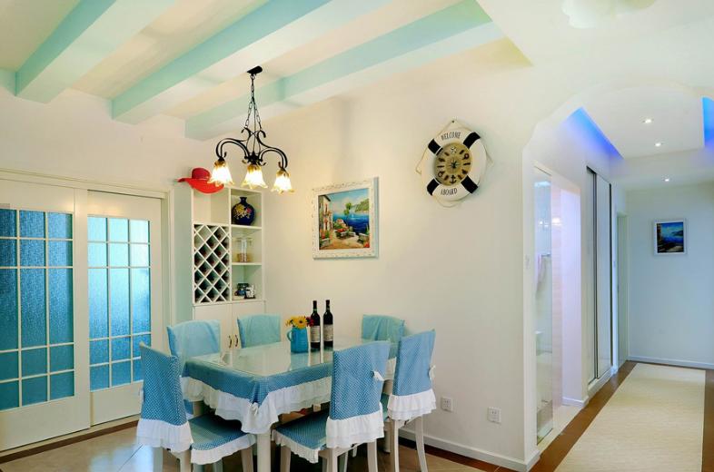 精选地中海一居休闲区装修效果图片欣赏