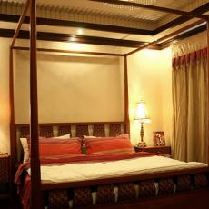 102平米三居卧室东南亚效果图片大全