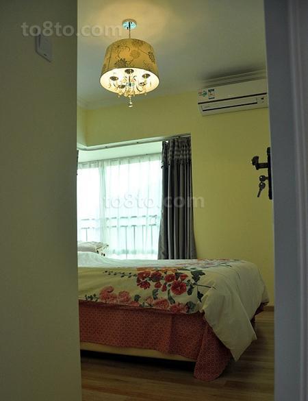 现代田园风格卧室效果图欣赏大全