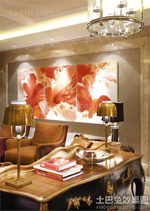 客厅背景墙装饰画图片