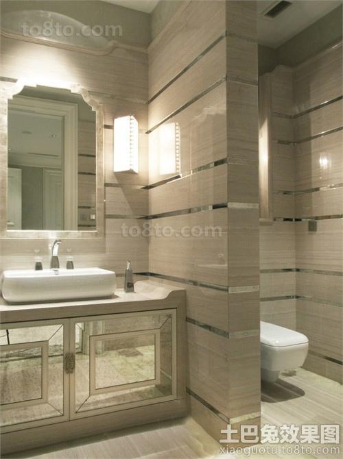 古典风格豪华卫生间装修效果图