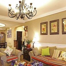 精选美式一居客厅实景图片大全
