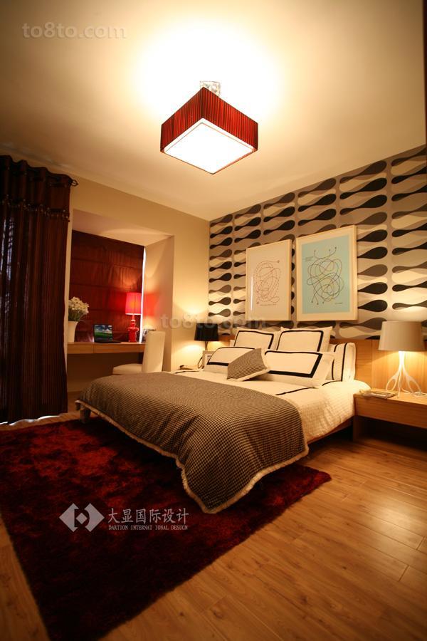 精选79平米简约小户型卧室装修欣赏图