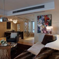 201876平米现代小户型客厅装修设计效果图片大全