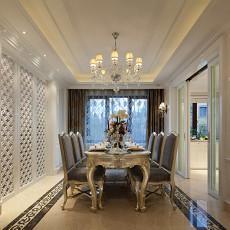 欧式风格豪华餐厅设计效果图大全