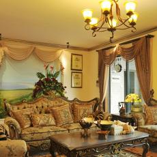 欧式风格客厅装修设计图片大全欣赏