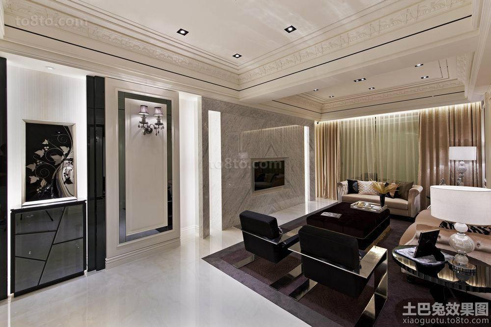 巴洛克风格室内高档装修设计