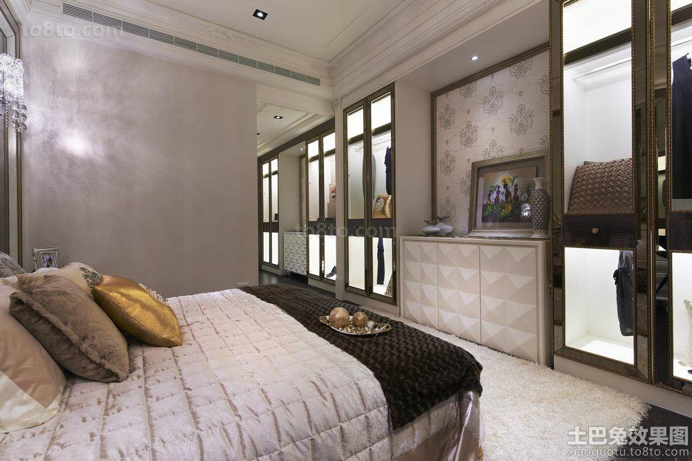 巴洛克风格大户型卧室装修图